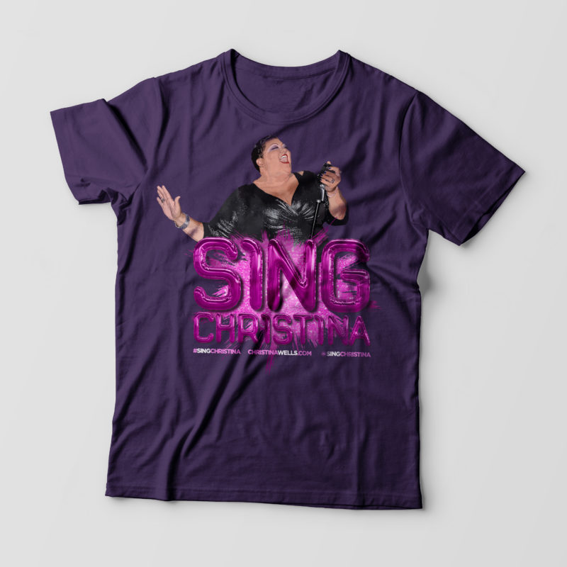 Sing Christina - Team Purple